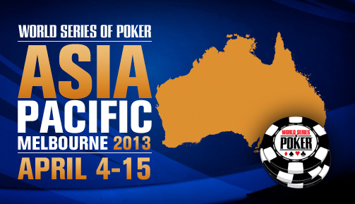 Comienza el primer evento Asia-Pacífico de las Series Mundiales de Póquer