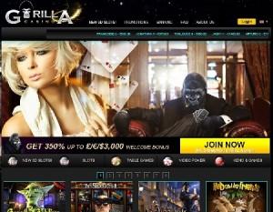 Gorila Casino ha entrado en funcionamiento con los juegos de Betsoft