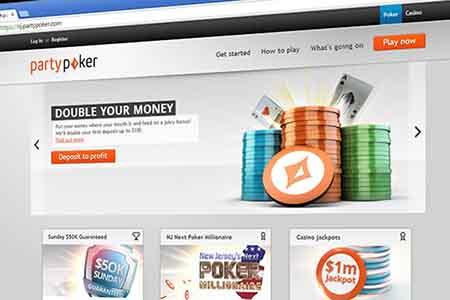 Party Poker lidera el mercado de juegos de azar en línea de Nueva Jersey