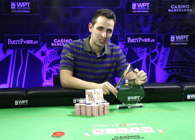 Sergio Aído gana el evento principal en Londres del Torneo de Póker de Reino Unido e Irlanda